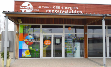 Showroom AXE Energies - La Cité de l'Habitat