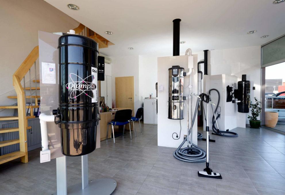 Showroom Olympia Diffusion - La Cité de l'Habitat