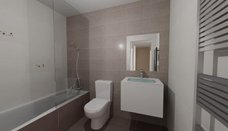Salle de bain maison Ensisheim Clever'Hom