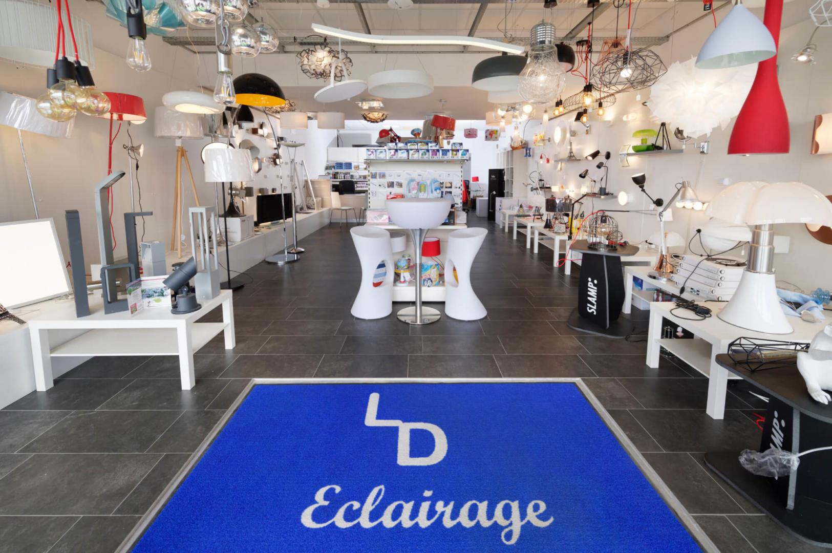 Showroom LD Eclairage - La Cité de l'Habitat