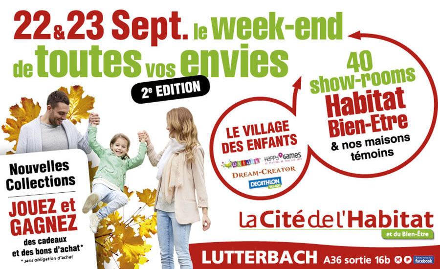 40 showrooms septembre : La Cité de l'Habitat