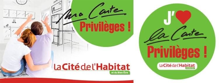 Carte Privilèges La Cité de l'Habitat