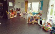 La Mamounette intérieur parc enfant
