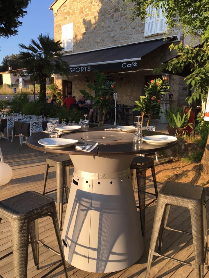 Equ Inox Design Decouvrez La Premiere Table Brasero Plancha